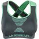 La Sportiva Focus Top Women Slate/Jade Green